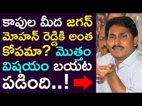 Jagan Is Very Angry On KAPPU Caste ! Reasons Revealed !! || Taja30