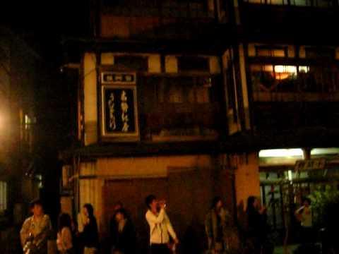 銀山温泉街