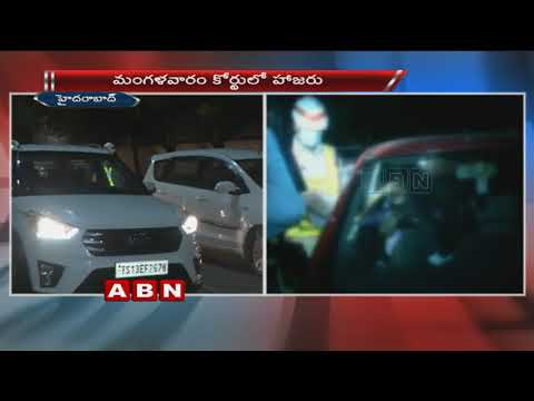 Police Conducts Drunk And Drive Test At Jubilee Hills | Hyderabad