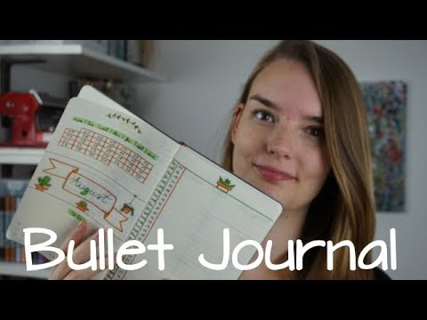 Bullet Journal ~ Was ist das? ~ Setup August ~ Tutorial