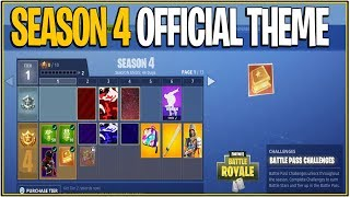 *NEW* Fortnite: SEASON 4 OFFICIAL THEME LEAKED!   (Meteoroid Leaked Meaning) 8.32 MB