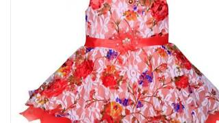 Baby dress design cotton - Designer infant girl clothes