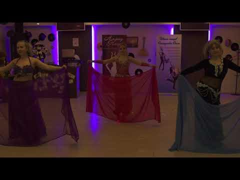 Московская школа танцев Танцквартал  Трио Руби - Алмаз Каира 19 февраля 2017г.
