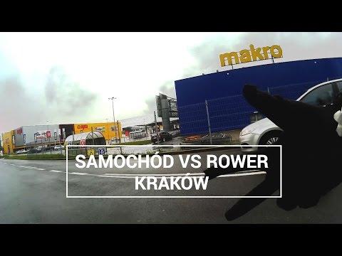 SAMOCHÓD Vs ROWER - Kraków