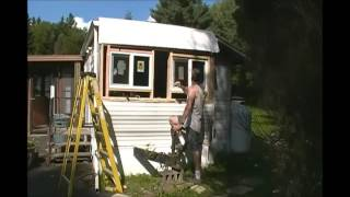 Our RV Tiny House Update 4 - Windows