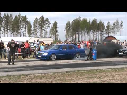 VW-Open Kiikala 18.5 2013 700+ hv turbodiesel Mercedes burnout