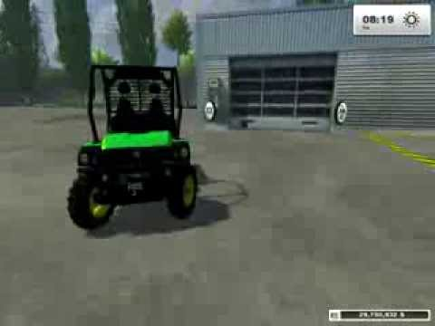 Farming Simulator 2013   Mod Reviews   1   Lizard ATV & John Deere Gator...