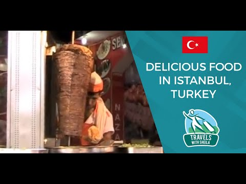Delicious Food in Istanbul, Turkey