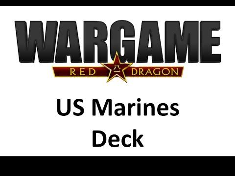 Wargame Red Dragon - US Marines Deck