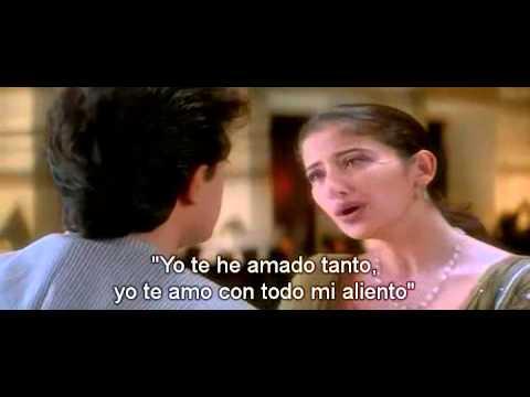 Chaha Hai Tujhko - Aamir Khan, Manisha Koirala Sub Español video