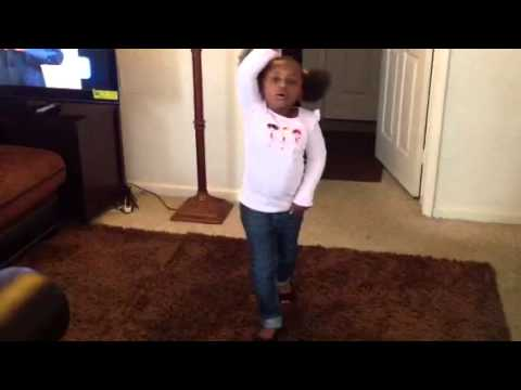 Shine Bright Like A Diamond (rihanna Cover) By 4 Year Girl video