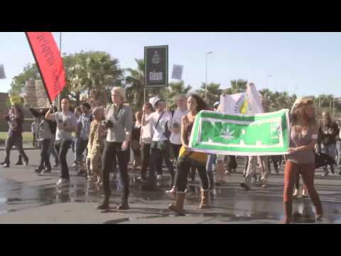 Global Cannabis March - Cape Town 2013 (HD)