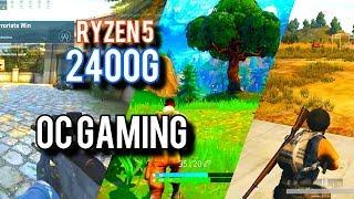 AMD Ryzen 5 2400G Overclocking: Fortnite, PUBG, And More!