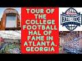 Tour Of The College Football Hall Of Fame In Atlanta, Georgia