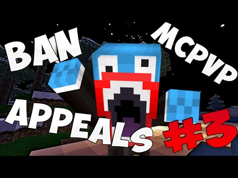 MCPVP Ban Appeals Episode 3 | Minecraft Anger