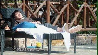 【TFBOYS 王源】王源《青春旅社》第3集未播出Part.1「躺在泳池边哼唱《成都》薄荷音简直苏到爆」-Roy Wang