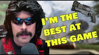 DrDisrespect Destroying everyone in apex legends
