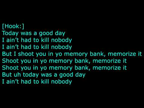 Tyga Ft. Lil Wayne & Meek Mill -- Good Day Lyrics on screen