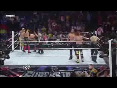 Sin Cara & Los Matadores Vs 3mb - Wwe Superstars 1 23 14 video