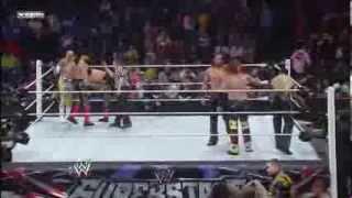 Sin Cara & Los Matadores vs 3MB - WWE Superstars 1/23/14