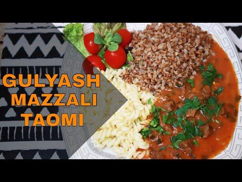 Mazzali taom - Gulyash - Gulyash tayyorlash 🌸🌸🌸