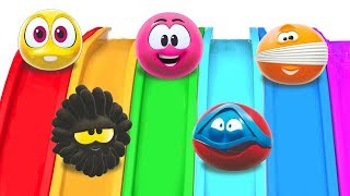 GIANT SLIDE | Play with Wonderballs by Cartoon Candy