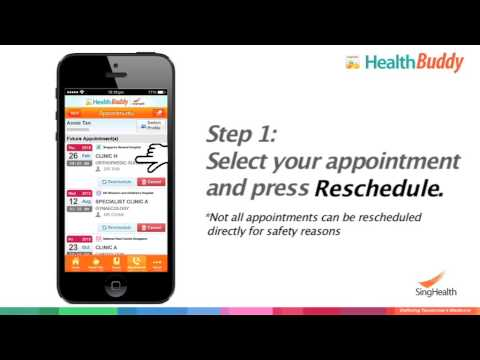View and Reschedule Medical Appointments from Your Smartphone
