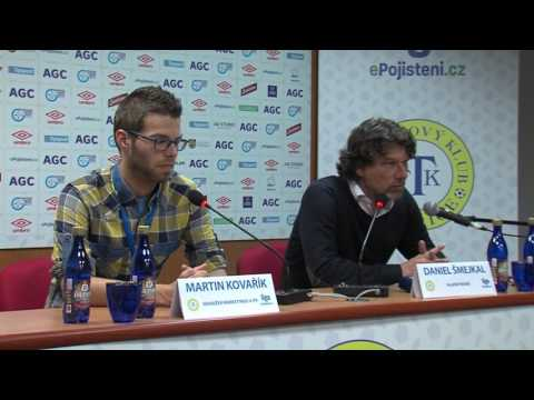Tisková konference domácího týmu po zápase Teplice - Bohemians (15.5.2017)