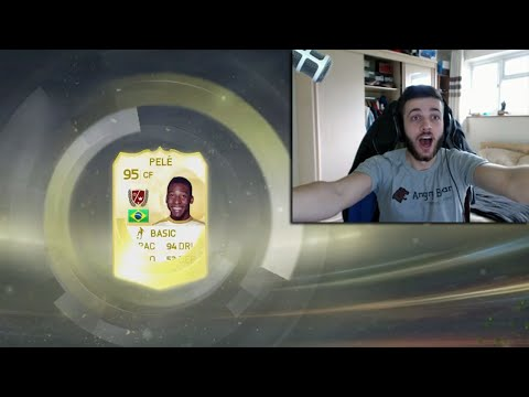OMFG I ACTUALLY PACKED PELÉ!!! - FIFA 15 PACK OPENING