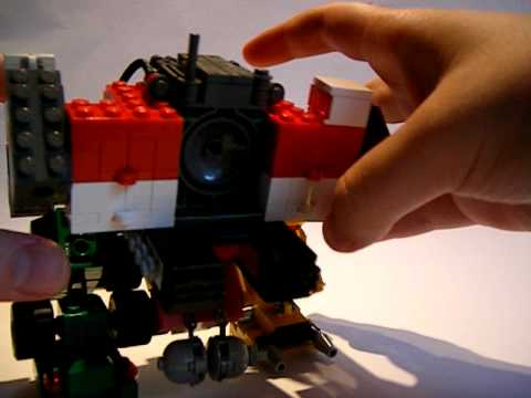 Lego Transformers ROTF Devastator Review