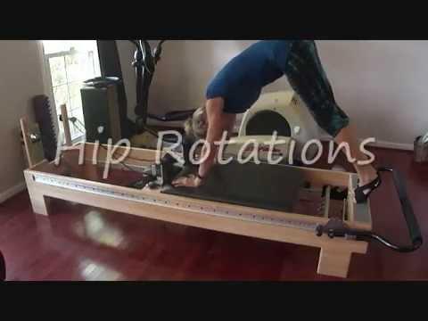 Pilates Reformer Plank Variations