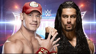Roman Reigns vs John Cena Wrestlemania 32 Promo