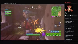 Playing fortnight trying the tac smg again
