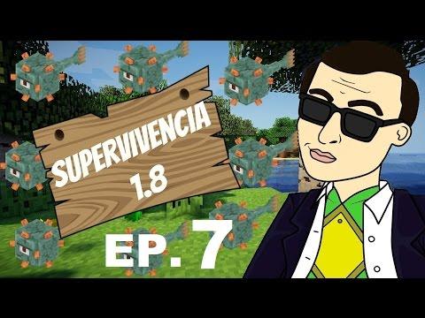 EP. 7 - SALA DE COFRES EPICA - SUPERVIVENCIA 1.8 - MINECRAFT SURVIVAL