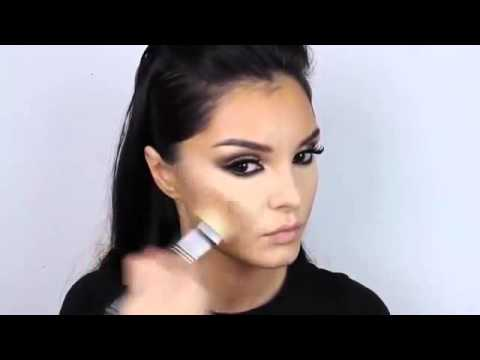 Kim Kardashian Inspired Make Up Look