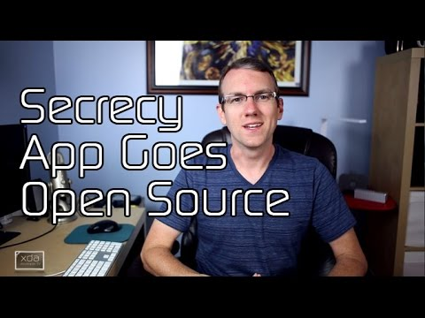 Secrecy App Goes Open Source, New LG Android Wear Device!