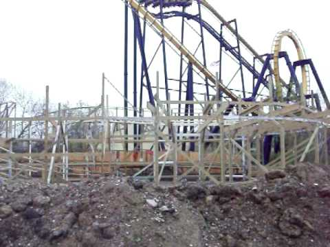 Little Dipper Construction Opening Weekend 2010 Six Flags Great America 4-25-10 Video