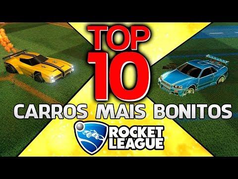 TOP 10 - CARROS MAIS BONITOS DO ROCKET LEAGUE!