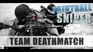 PAINTBALL SNIPER - SBR ACTION - PROTECTING THE FORT
