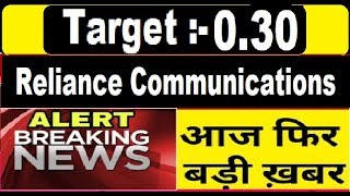 Latest News in Rcom Price 2.30 = 0.30 Target || Penny stock 2019