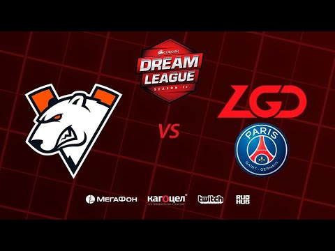 Virtus.pro vs PSG.LGD, DreamLeague Season 11 Major, bo3, game 1 [4ce & Lex]