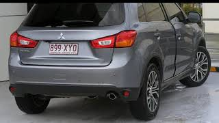 2016 Mitsubishi ASX XB MY15.5 LS 2WD Charcoal 6 Speed Constant Variable Wagon