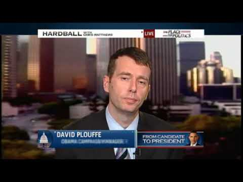David Plouffe on Obama and Health care Hardball Chris Mathews