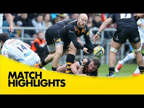 Wasps highlights vs Exeter