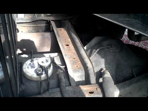 2000 Dodge Ram 2500 Fuel pump replacement
