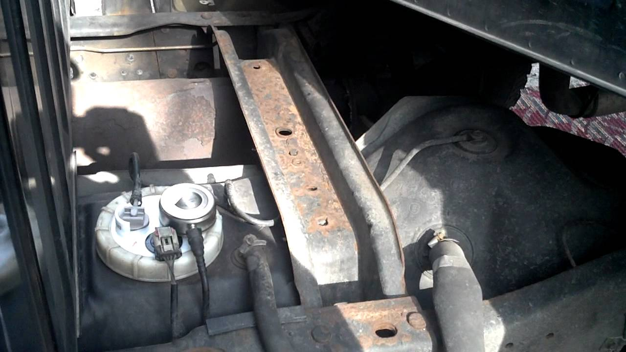 2000 dodge ram 2500 fuel pump replacement youtube
