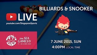 Billiards Men's 9-Ball Pool Doubles Finals | 28th SEA Games Singapore 2015