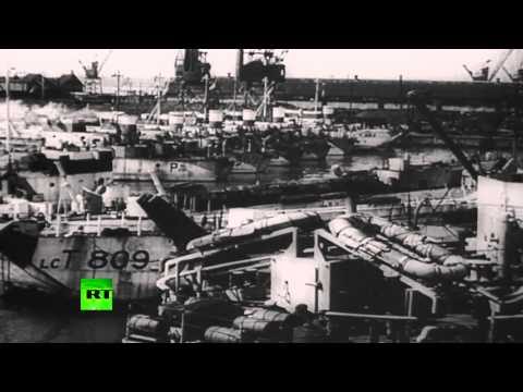 Uncut Chronicles: D-Day 1944. Archive footage of invasion forces & defences