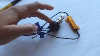 DIY - How to Install LED Blinker / Turn Signal Resistors  - Enlight Tutorial