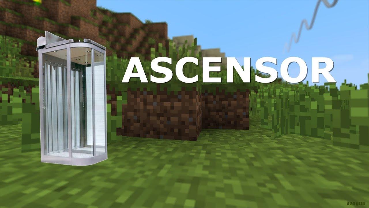 Minecraft 1 5 2 como hacer un ascensor youtube for Materiales para hacer un ascensor